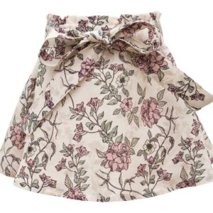 Romantic Flower Blanca Skirt | HjemE