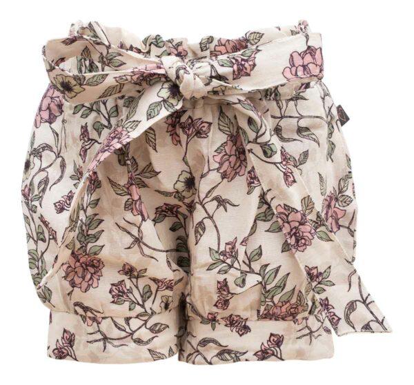 Romantic Flower Pixie Shorts | Pixie shorts med sløjfe i romantic flower print
