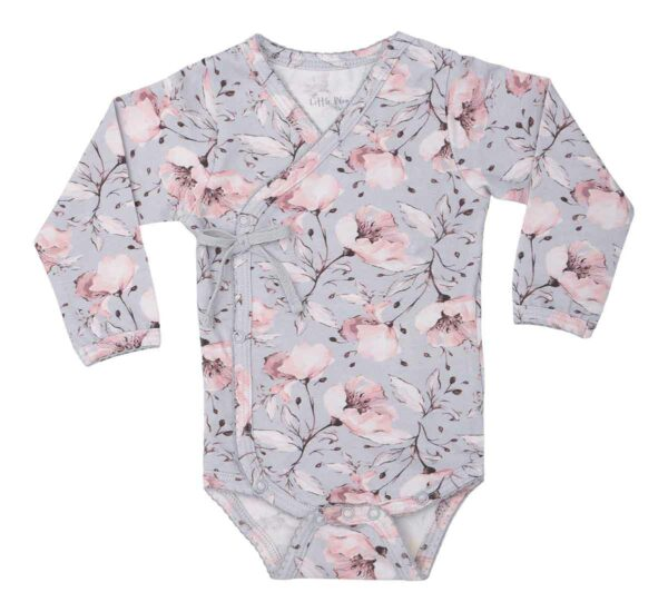 Spring Flower NB Body   Sofie Girls Cross body i spring flower print