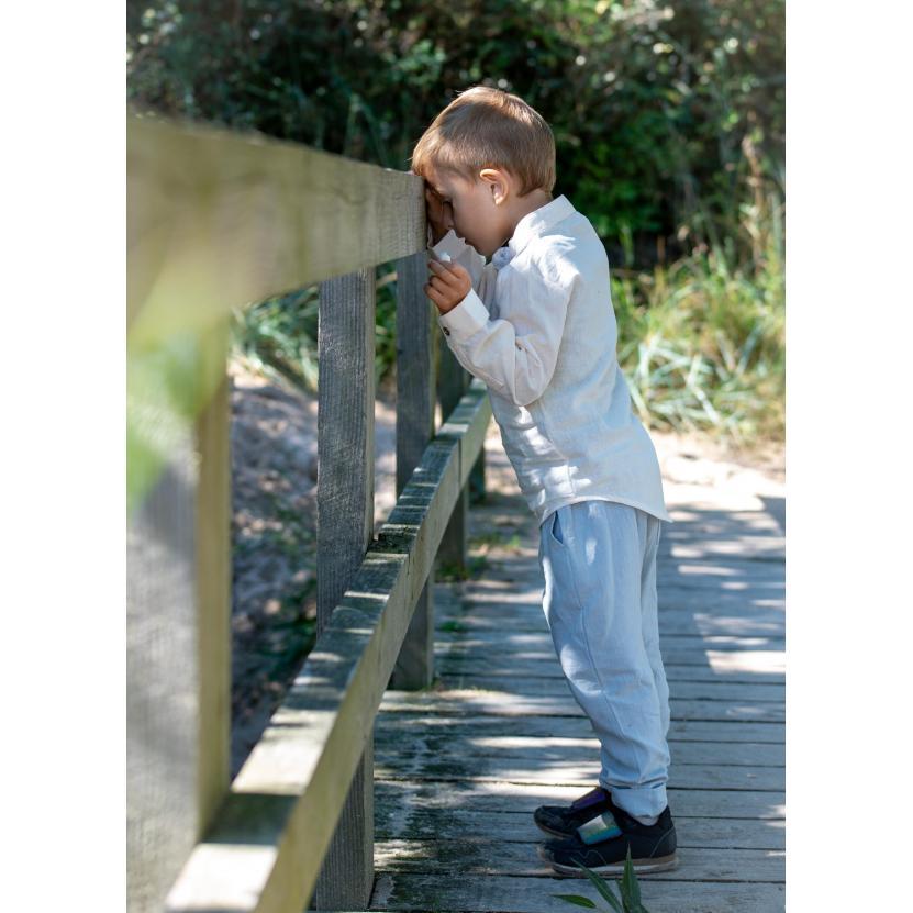 Thor Shirt Mathe Pants scaled | Thor langærmet skjorte i antique white