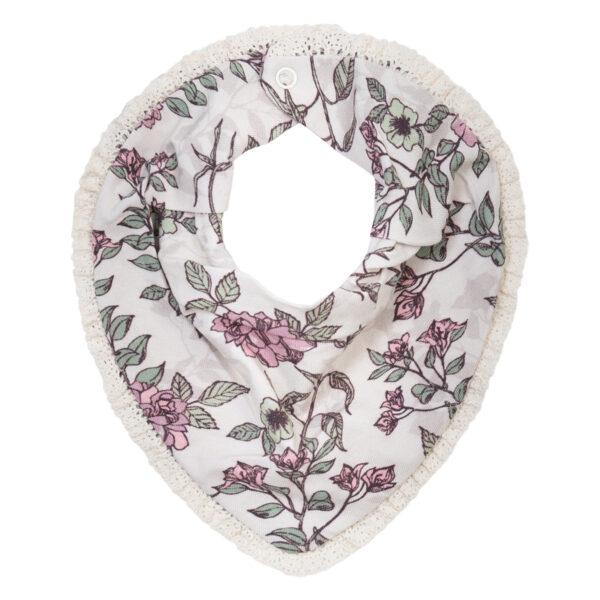 Allie20Romantic20Flower | Allie savlesmæk med blondekant i romantic flower print