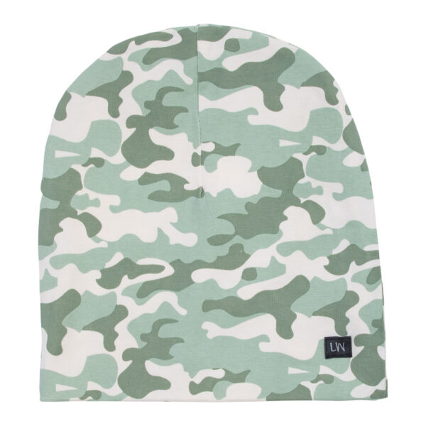 Andy20Green20Camou   Andy Beanie hue i green camou print