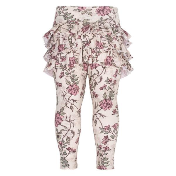 Athena20Romantic20Flower20front | Athena leggings med flæser i Romantic Flower Print