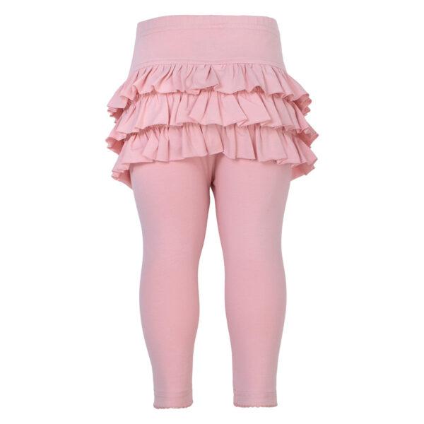 Athena20Tea20Rose20front | Athena leggings med flæser i Tea Rose