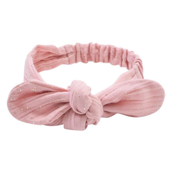Aya20Haarbaand20Tea20Rose   Aya hårbånd i tea rose med glitter print