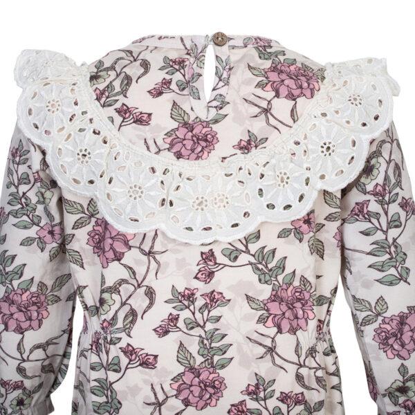 Ella20Bodysuit Romantic20Flowers 2 | Ella Heldragt med blonde krave i romantic flower print