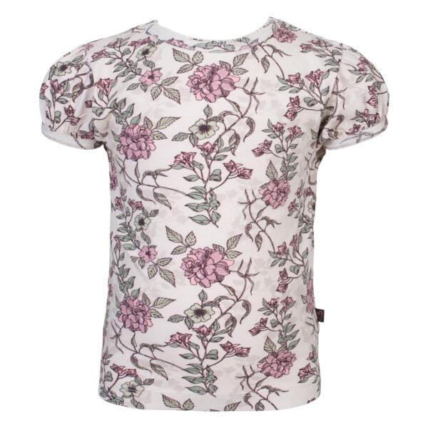 Harper20Tee Romanti20Flower | Harper T-shirt med puff ærmer i romantic flower print