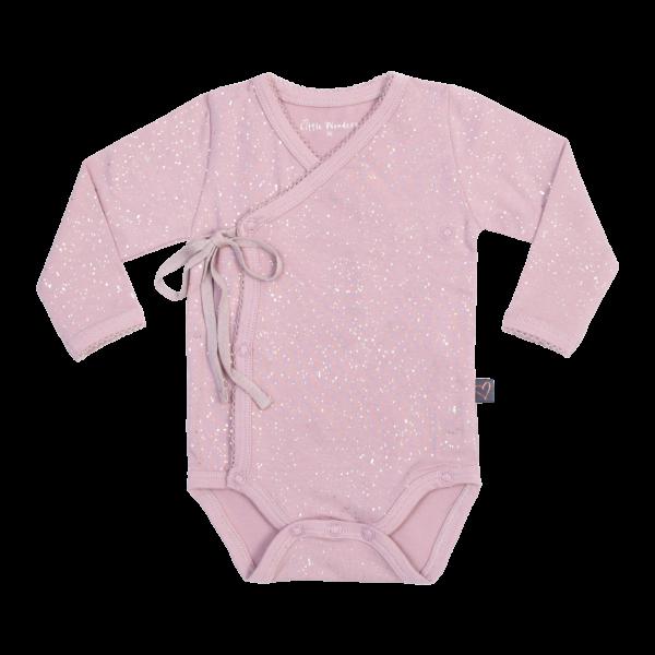 Sofie Girls Cross body i støvet rosa glitter