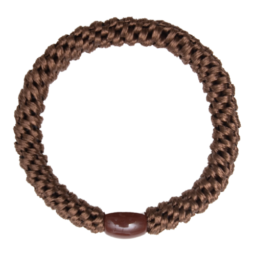 403 Kelly Brun | Kelly mørkebrun kraftig hår elastik #403