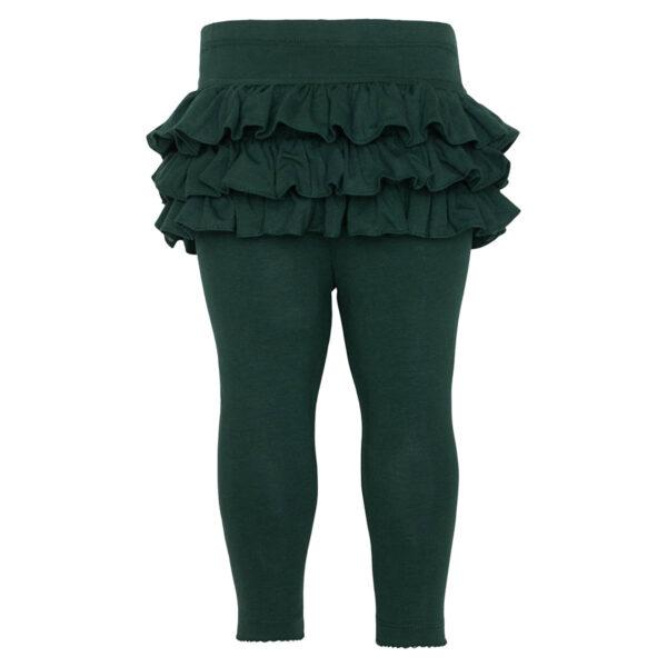 Athena20Opal20Green | Opal green Athena leggings med flæser