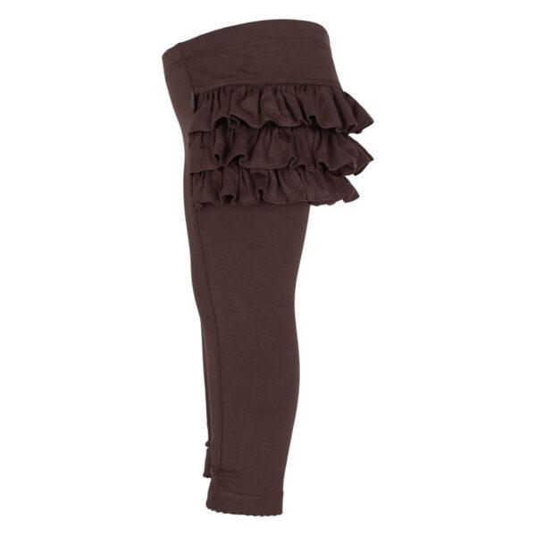 Athena Truffle side | Truffle Athena leggings med flæser