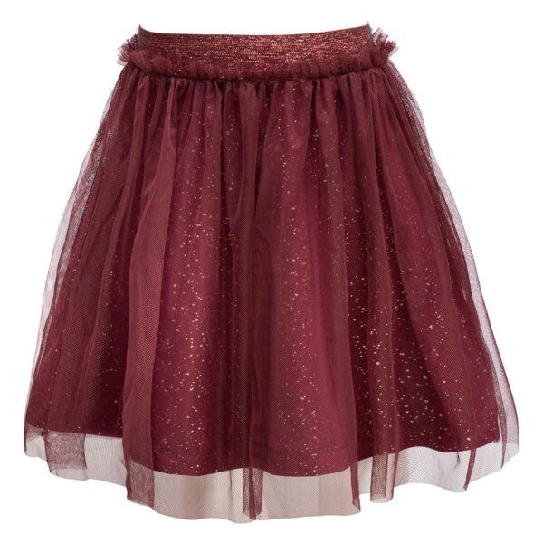 Britney20Burgundy   Burgundy / glitter Britney tutu nederdel