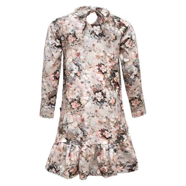 Lola20Autumn20Roses Back | Autumn roses Lola kjole med sløjfe