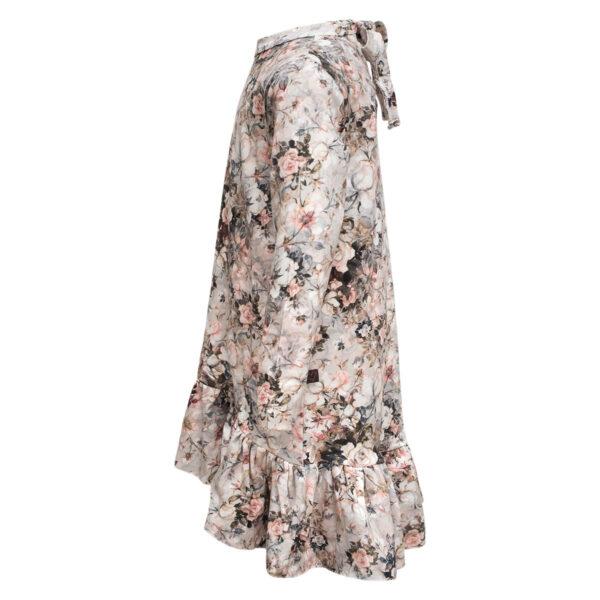 Lola20Autumn20Roses Side | Autumn roses Lola kjole med sløjfe