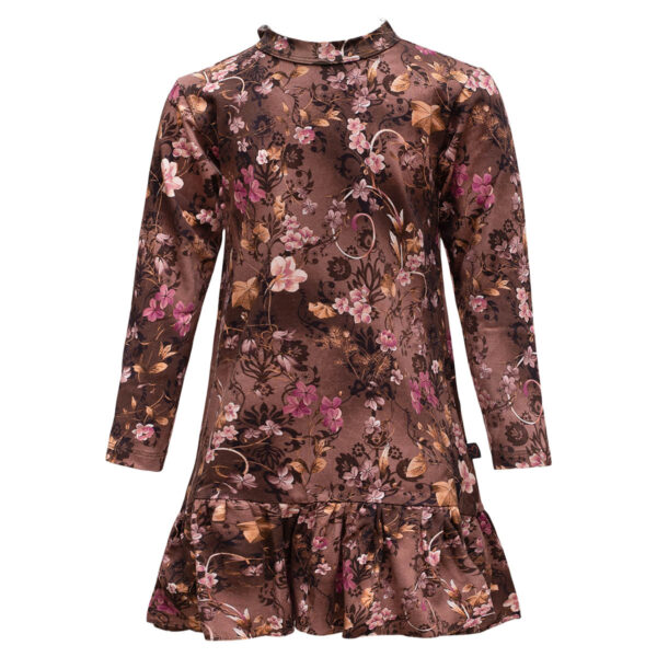 Lola20Brown20Romance | Brown romance Lola kjole med sløjfe
